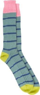 Corgi Thin Stripe Mid-Calf Socks
