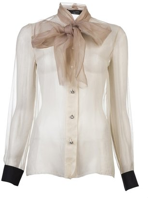 Lanvin Sheer blouse