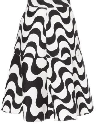 Clements Ribeiro Juju Copacabana Print Flip Skirt