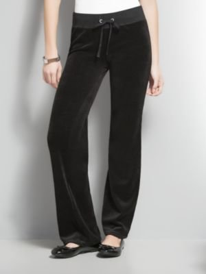 New York & Co. Velour Drawstring Pants - Tall