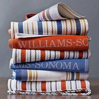 Williams-Sonoma Seasonal Contrast Striped Towels, Set of 4
