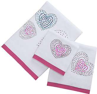 JCPenney Hearts Decorative Bath Towels