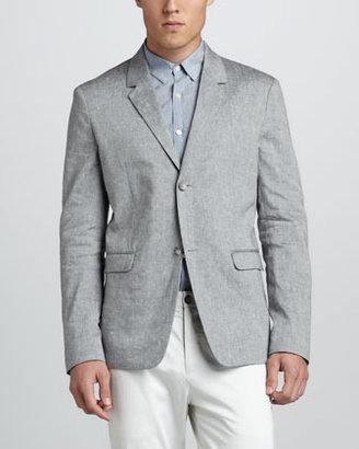 Theory Cotton-Linen Blazer