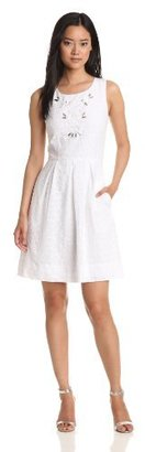 Miss Sixty Women's Alice Eyelet Dress