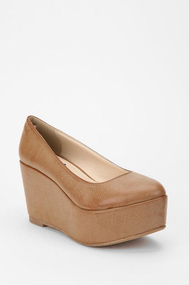 Urban Outfitters Deena & Ozzy Simple Platform Wedge