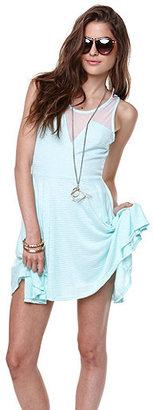 Kirra Textured Knit Mesh Dress