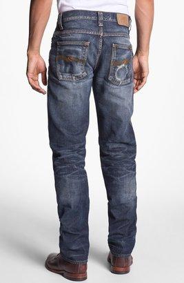 Nudie Jeans 'Alf' Slim Straight Leg Jeans (Organic Larry Replica)
