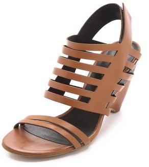 Vic Matié Low Heel Banded Sandals
