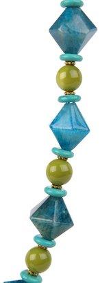 Nakamol Multi-Colored Beadwork Necklace