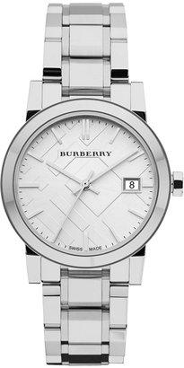 Burberry Watch, Women's Swiss Stainless Steel Bracelet 34mm BU9100 $495 thestylecure.com