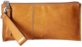 Hobo Vida (Black Vintage Leather) Clutch Handbags