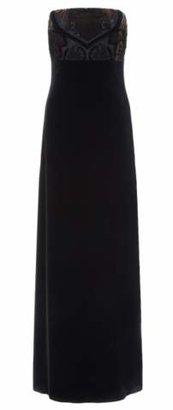 Ariella Lila Velvet Gown