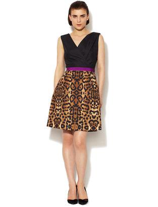 Giambattista Valli Cotton Printed Combo Dress