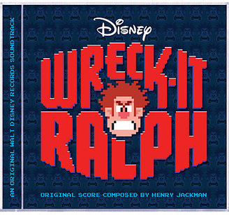 Disney Wreck-It Ralph Soundtrack CD