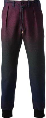 Paul Smith colour fade trouser