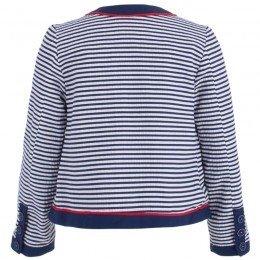 Mayoral Nautical Stripe Jacket