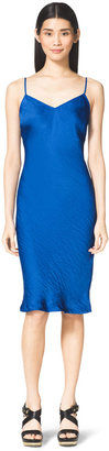 Michael Kors Bias-Cut Slip Dress
