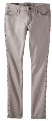 Mossimo Women's Skinny Cropped Jeans (Fit 3) - Soft Taupe