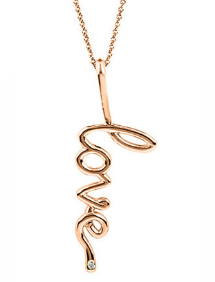 Avanessi Big Love Pendant Necklace