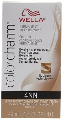 Wella 4NN Intense Medium Neutral Brown Permanent Liquid Hair Color $6.49 thestylecure.com