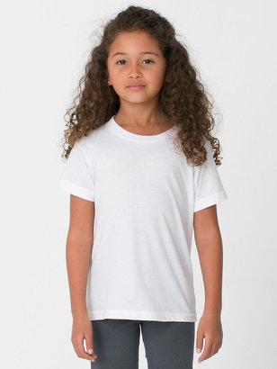 American Apparel Kids Fine Jersey Short Sleeve T