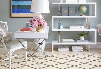 Pangea Alba X-Leg Desk, White