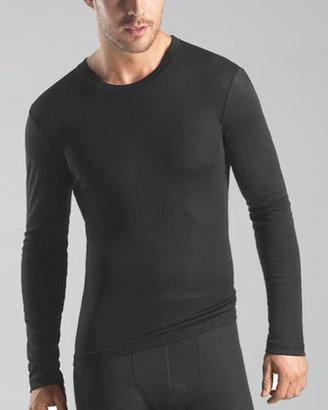 Hanro Silk-Cashmere Long-Sleeve Undershirt