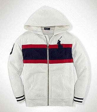 Ralph Lauren 8-20 Fleece Hoodie Jacket