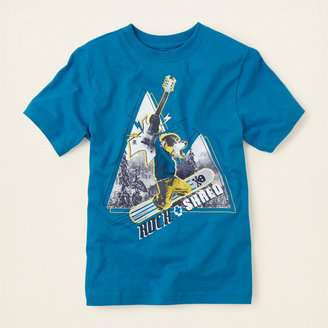 Children's Place Shred graphic tee