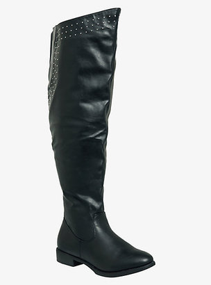 Torrid Studded Over-The-Knee Boots (Wide Width)