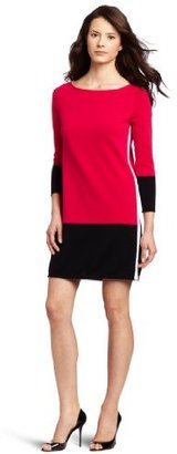 Magaschoni Women's Color Block Tunic