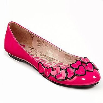 Betseyville by Betsey Johnson Heart Flats