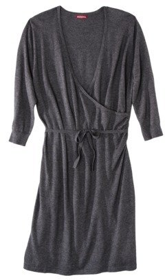 Merona Women's Plus-Size Long-Sleeve V-Neck Sweater Dress - Assorted Colors