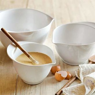 Williams-Sonoma Williams Sonoma Melamine Mixing Bowls with Spout, Set of 3