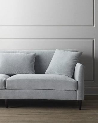 "Horchow ""Silvertone"" Sofa"