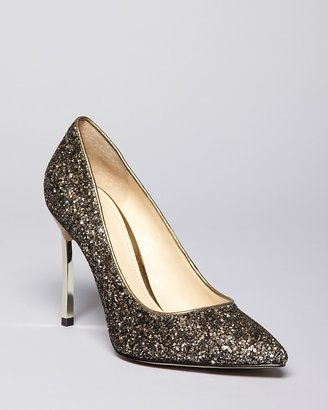 Enzo Angiolini Pointed Toe Evening Pumps - Infiniti5 High Heel