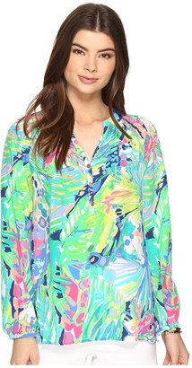Lilly Pulitzer Elsa Top $158 thestylecure.com