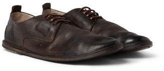 Marsèll Burnished Leather Derby Shoes