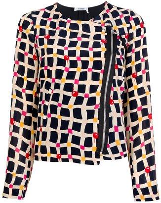 Sonia Rykiel Sonia By printed silk jacket