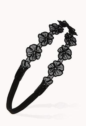 Forever 21 Floral Crochet Headband