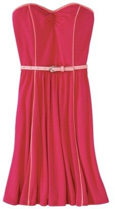 Xhilaration Juniors Strapless Belted Dress - Assorted Colors