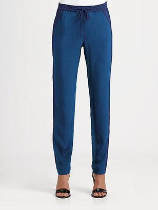 Vince Silk Track Pants