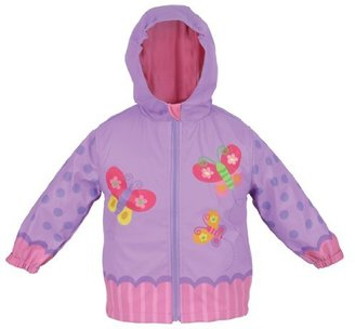 Stephen Joseph Girls 2-6x Butterfly Rain Coat