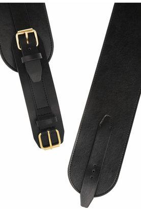 McQ Leather waist belt
