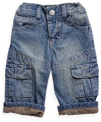 Pumpkin Patch Lined Denim Cargo Pants