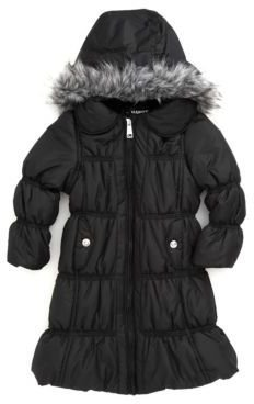 Hawke & Co Girls 2-6x Puff Performance Coat