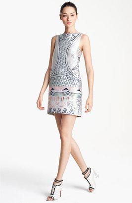 Mary Katrantzou Jacquard Shift Dress