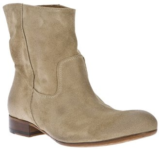 Pantanetti suede ankle boot