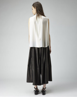 Acne Studios sheena tuxedo collar shirt