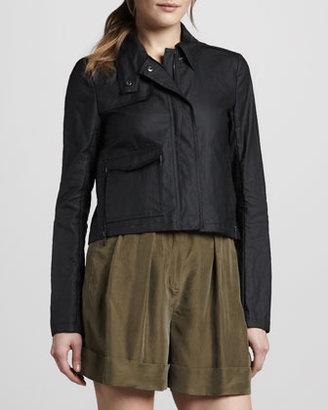 Theory Monrovia Faux-Leather Jacket